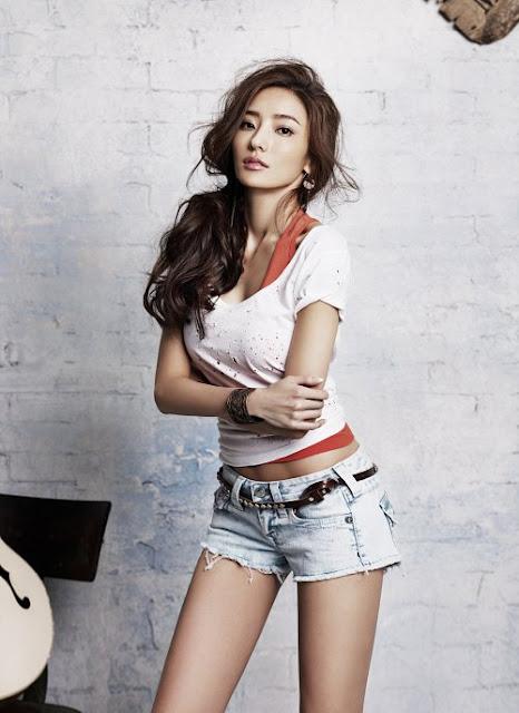 Artis Korea Berambut Pendek  newhairstylesformen2014.com