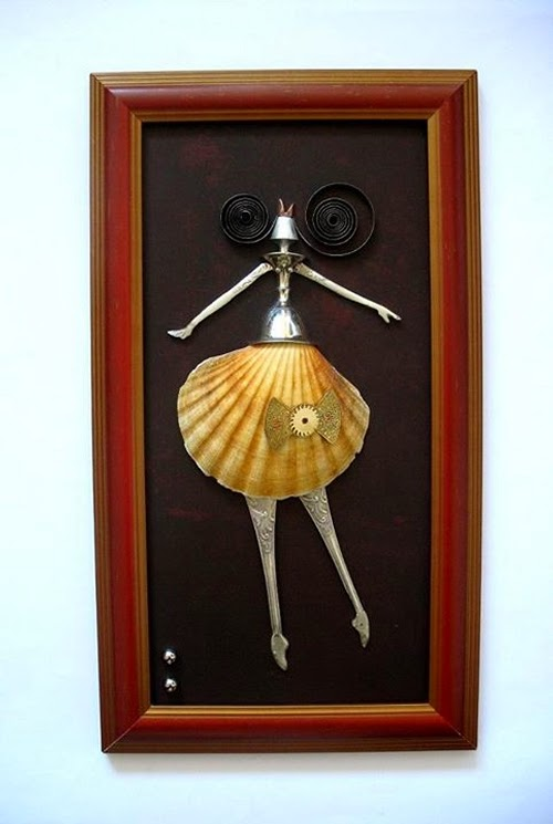 13-Ballerina-Arturas-Tamasauskas-Recycled-and-Upcycled-Steampunk-Sculptures-www-designstack-co