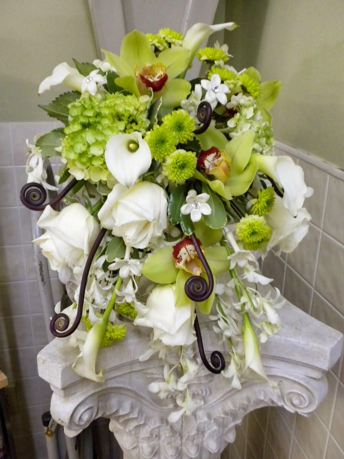 Tendance Bouquet De Mari E En Cascade Tout Pour Mon Mariage