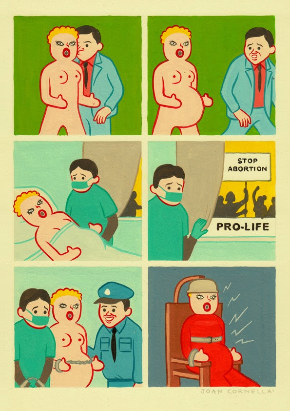 Page 1 | Joan Cornellà - Prolife. Published by Trony on Thursday, 15 January 2015 in Art and Design (Design's Factory)