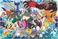 Pokemon XY Jigsaw Puzle Ensky 500 pcs