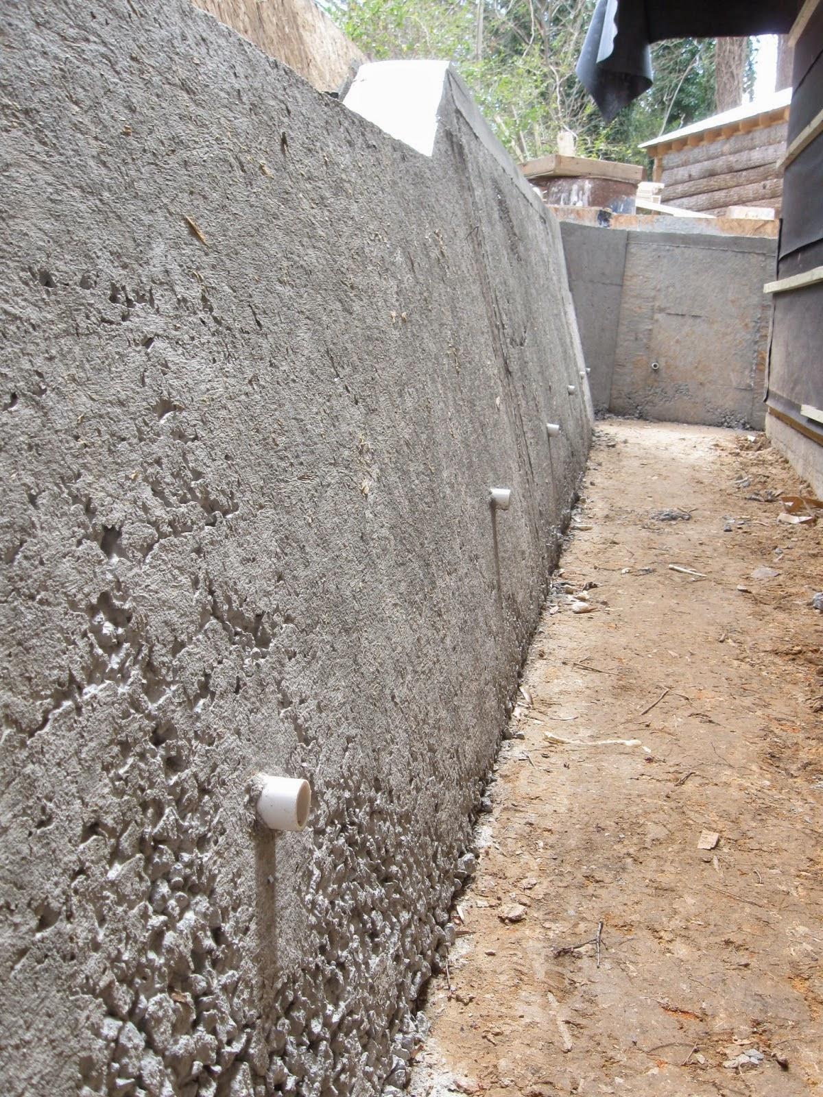 Semi Gravity Retaining Wall