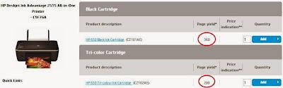 Картридж 662 и его ресурс