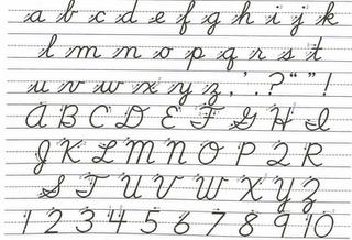 How to write u in script