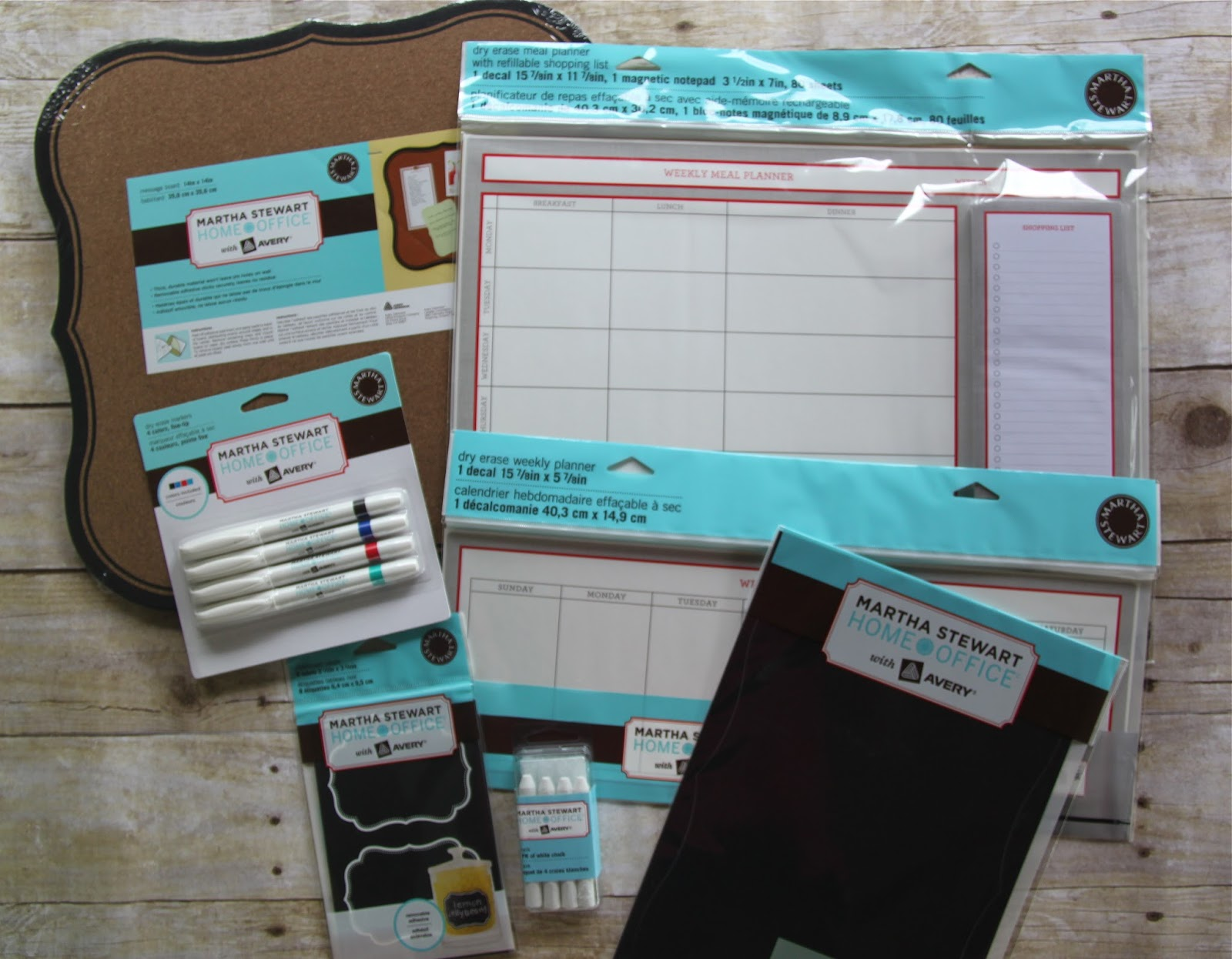 back to school organization with martha stewart home office™ with