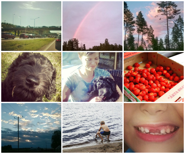 Collage about August