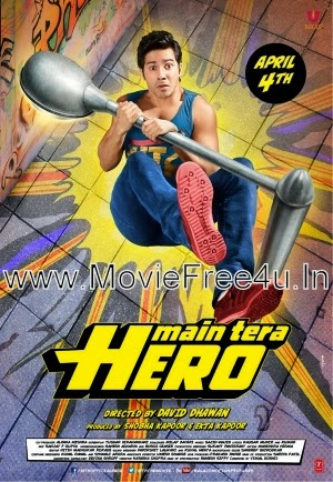 Poster of Besharmi Ki Height   Main Tera Hero (2014) Video Song 720P HD single video song  free download at moviefree4u.in