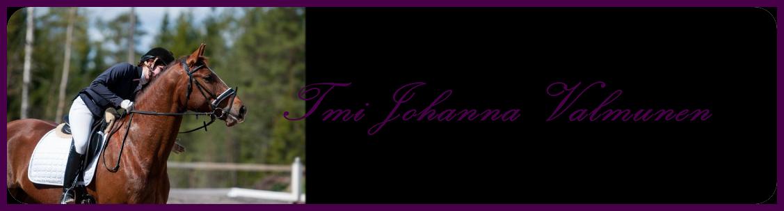 Tmi Johanna Valmunen