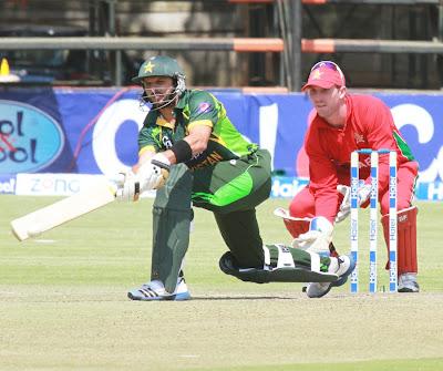 Pakistan vs Zimbabwe 3rd ODI Live Score Cricket Match on August 31, 2013