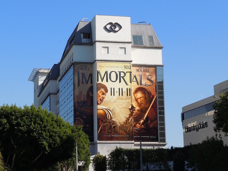 Immortals movie billboards
