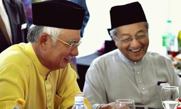 Ada Persamaan Di Antara Najib Tun Mahathir