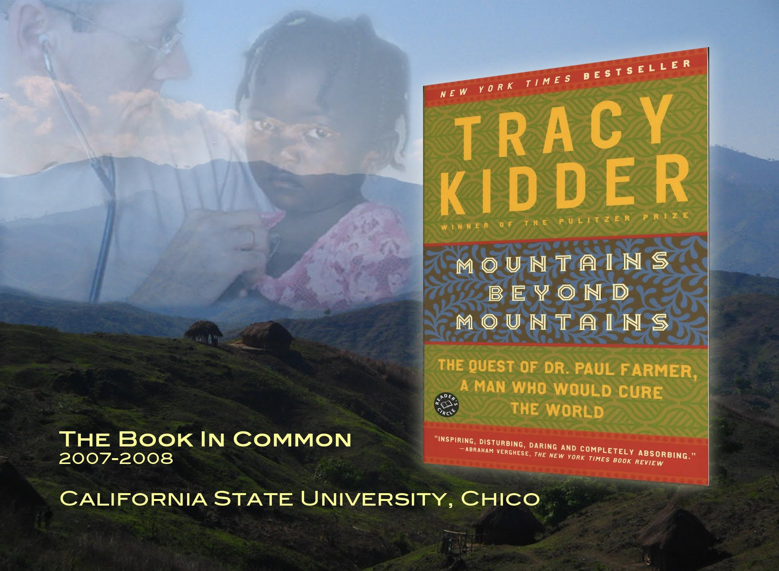 paul farmers travels to haiti in mountains beyond mountains by tracy kidder Books on tape genre: biography & autobiography - medical (incl patients) tracy kidder is a winner of the pulitzer prize and the author of the bestsellers the.
