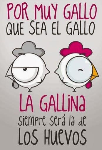EL GALLO LA GALLINA Y LOS HUEVOS