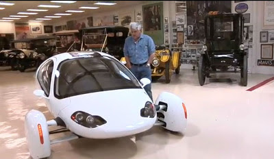 Video: Jay Leno Tries Out the Aptera EV