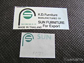Mad Men Inspired Chair Makeover K.D. Sun Furniture | It's Always Ruetten