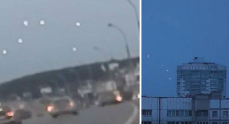 Μυστηριώδη αντικείμενα περιφέρονται στον ουρανό της Λευκορωσίας [Βίντεο]