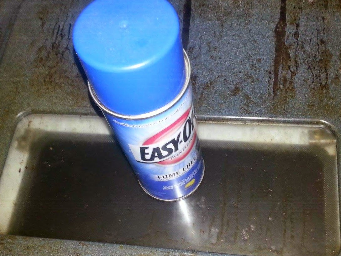easy off fume free oven cleaner instructions