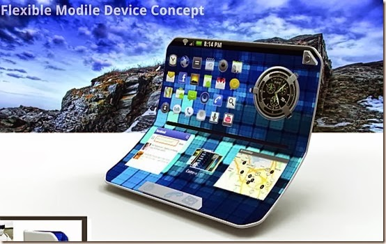 Mobile latest technology , Flexible Modile.