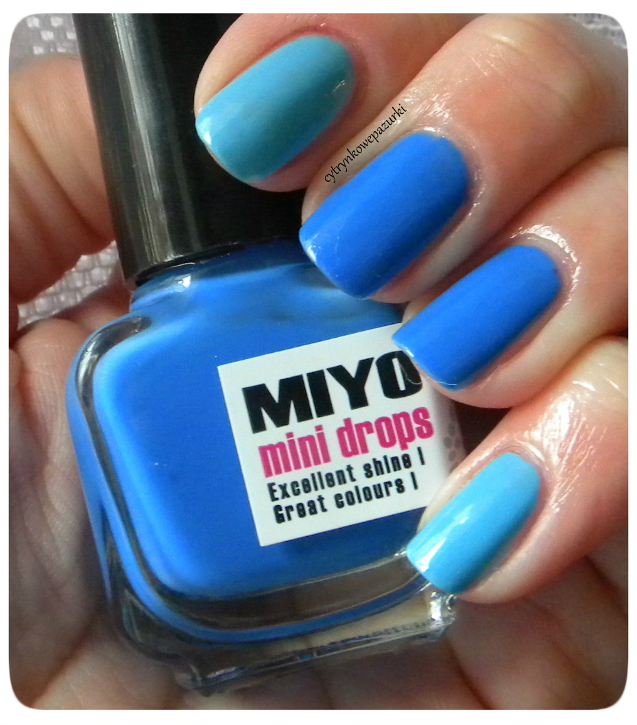 I Love Hean 810 i Miyo Mini Drops 45 Iris czyli niebiesko mi