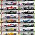 Confira as pinturas dos carros da Indy para o GP do Texas