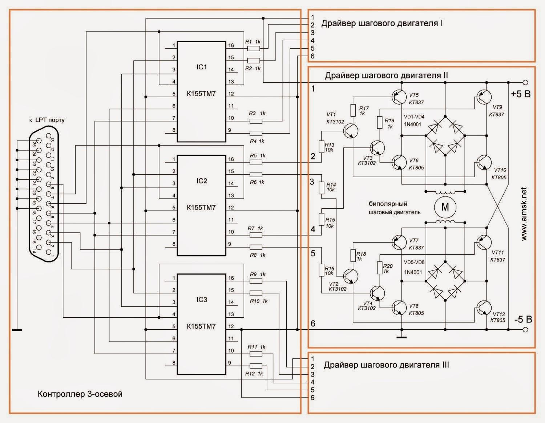 Как выбрать драйвер для шагового двигателя
