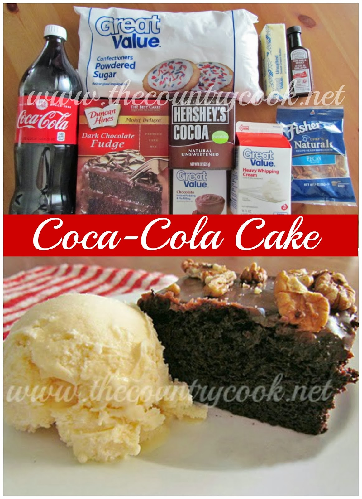 The Country Cook: Coca-Cola Cake