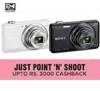 Buy Cameras Upto Rs.3000 Cashback From Paytm:buytoearn