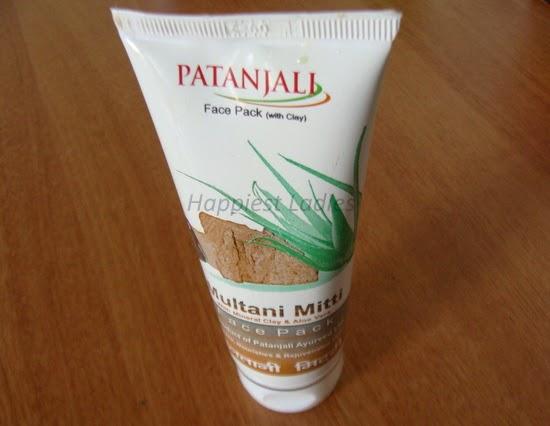 Patanjali Multani Mitti with Clay FacePack
