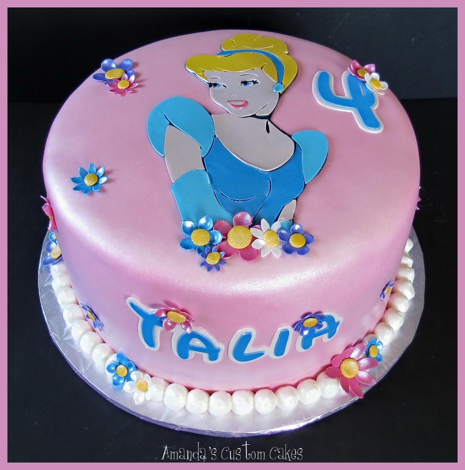 Amandas Custom Cakes Cinderella Cake