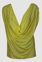 Tricou ZARA Wendy Yellow (ZARA)