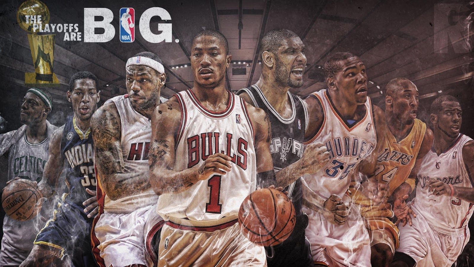 A Widescreen Wallpaper 2012 NBA Playoffs Big Fan Of