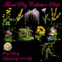Floral PNG Collection pack