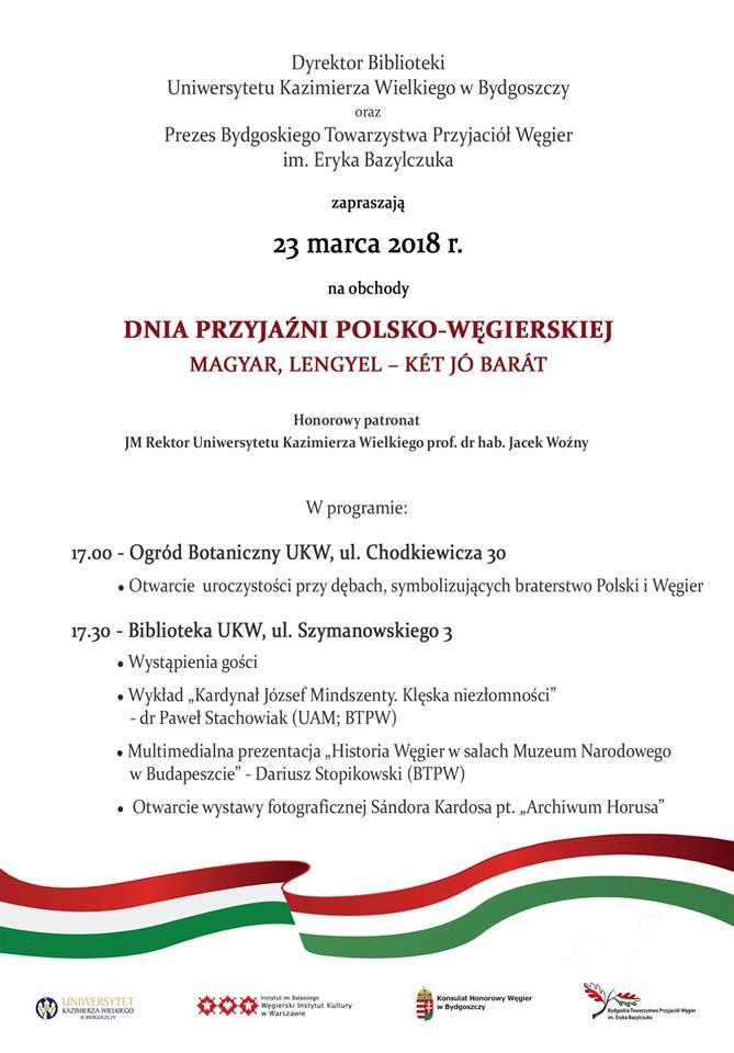 Zapraszamy na Dzień Przyjaźni Polsko-Węgierskiej