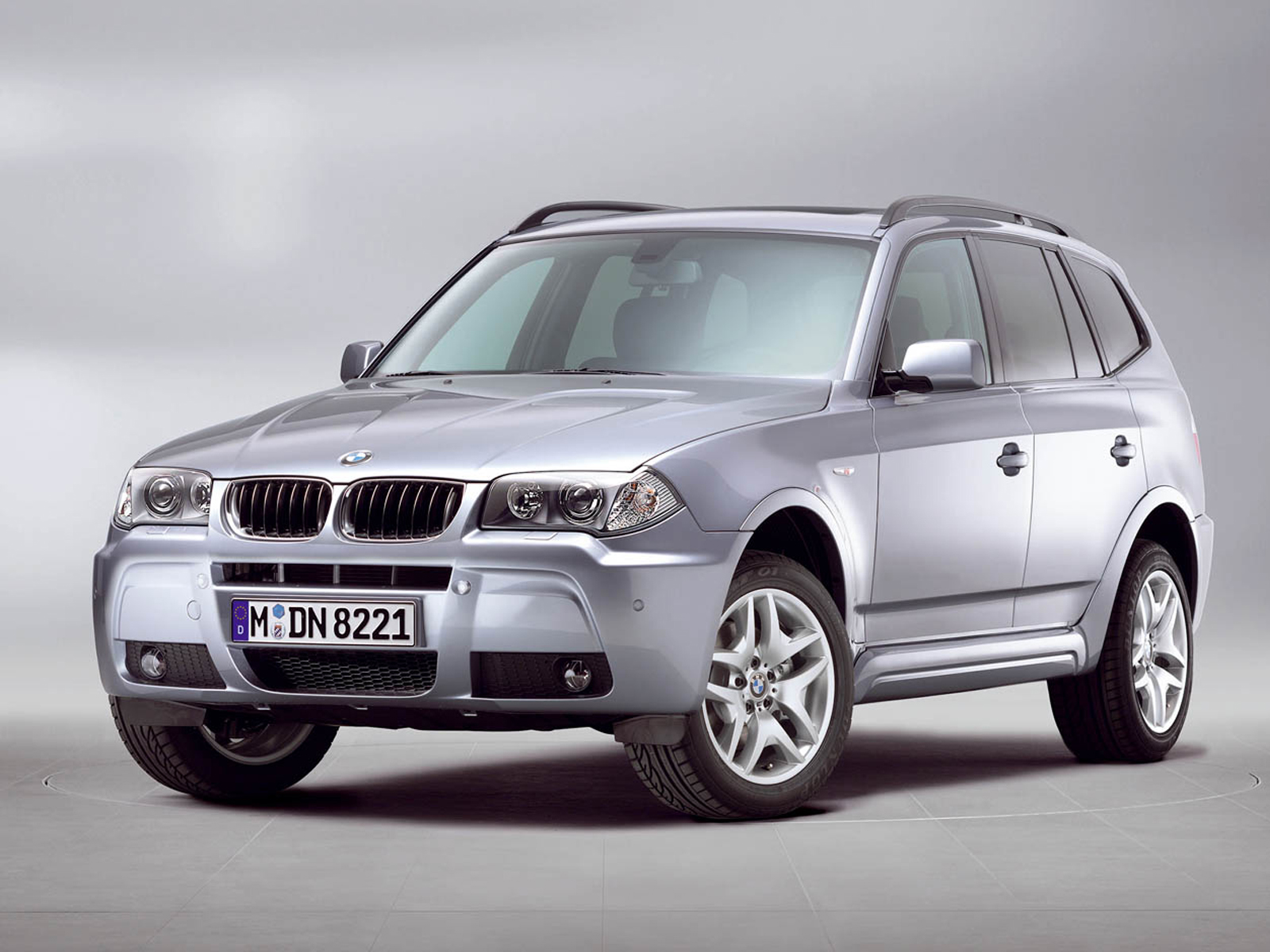 2005 bmw x3 3 0d front view