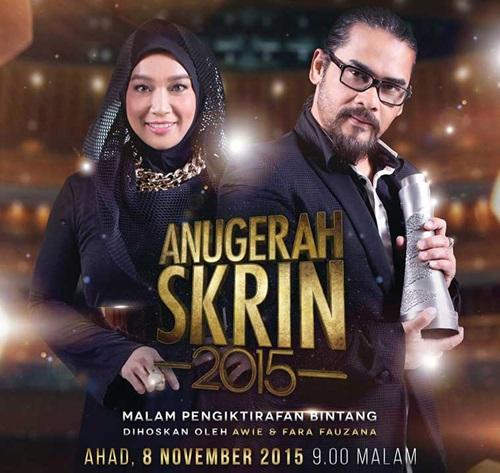 Pemenang Anugerah Skrin ASK 2015 TV3, keputusan rasmi, keputusan penuh, senarai rasmi pemenang, gambar Anugerah Skrin ASK 2015