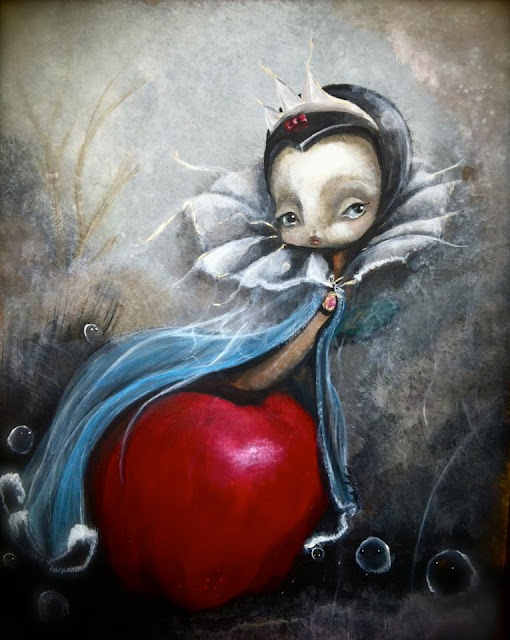 """""""Poison Queen"""" Painting by Ixie Darkonn"""
