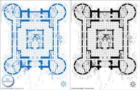 Galerry This is a photo of the Glass Castle blueprint made by Rex Walls