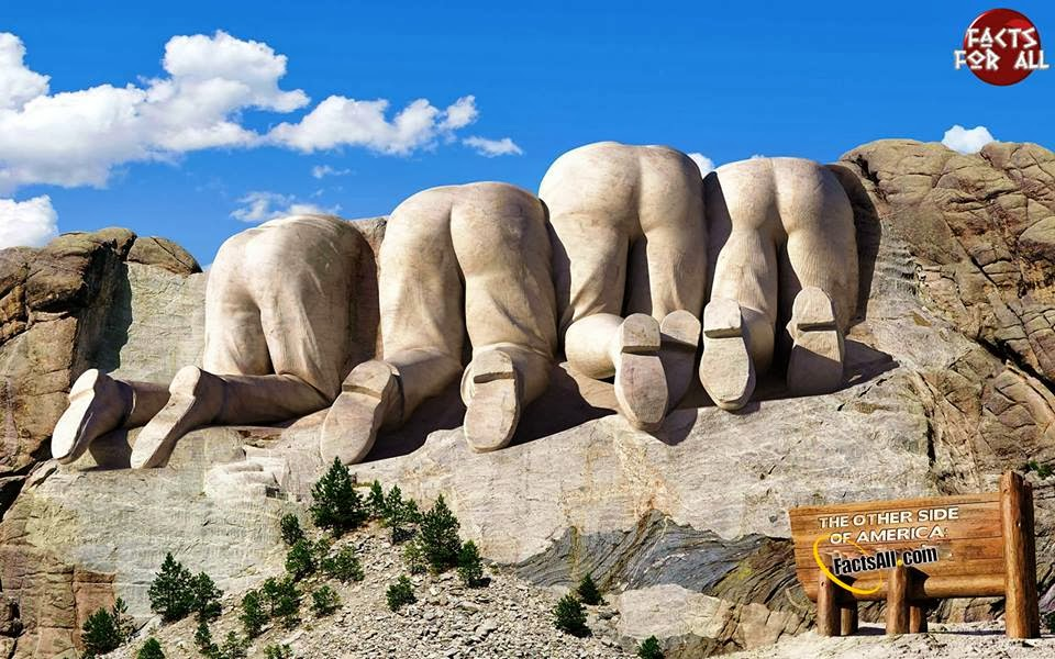 mount rushmore from canadian side