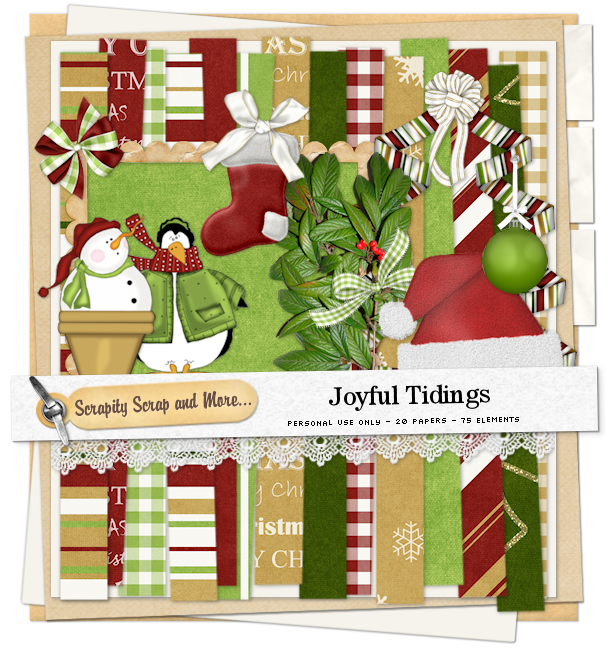 Scrapkit: Joyful Tidings