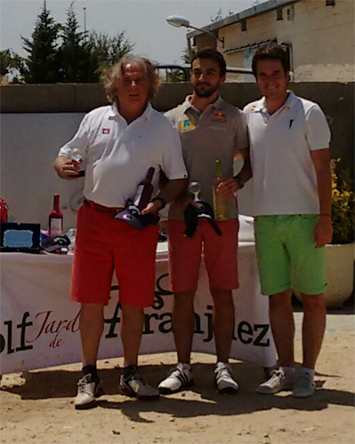 Torneo concept green de golf campeones de aranjuez for Golf jardin de aranjuez