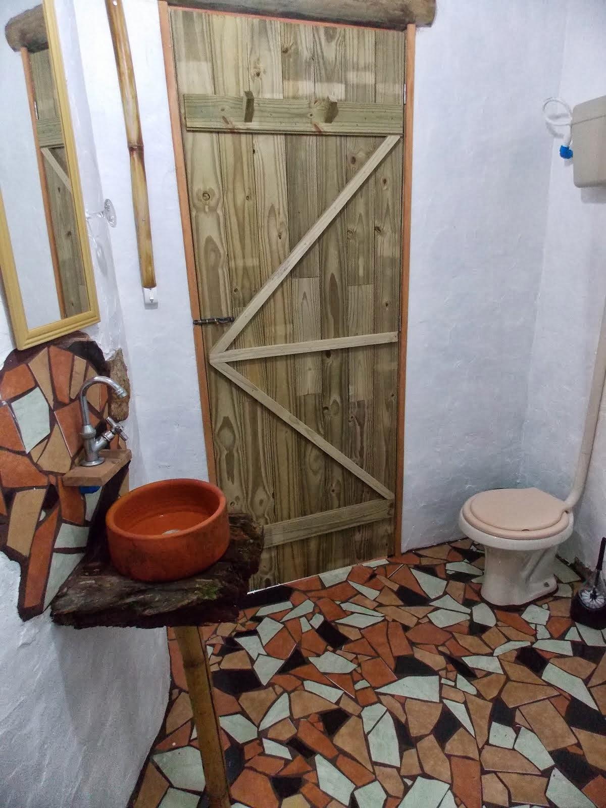 Banheiro da cabana 8