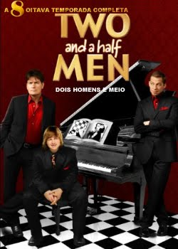 Seriado Two and a Half Men 8ª Temporada DVDRip RMVB Dublado