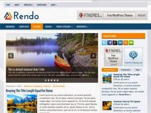 Rendo - Free Wordpress Theme