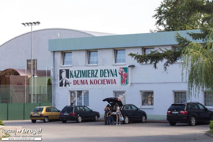 Śladami Kazimierza Deyny w Starogardzie Gdańskim