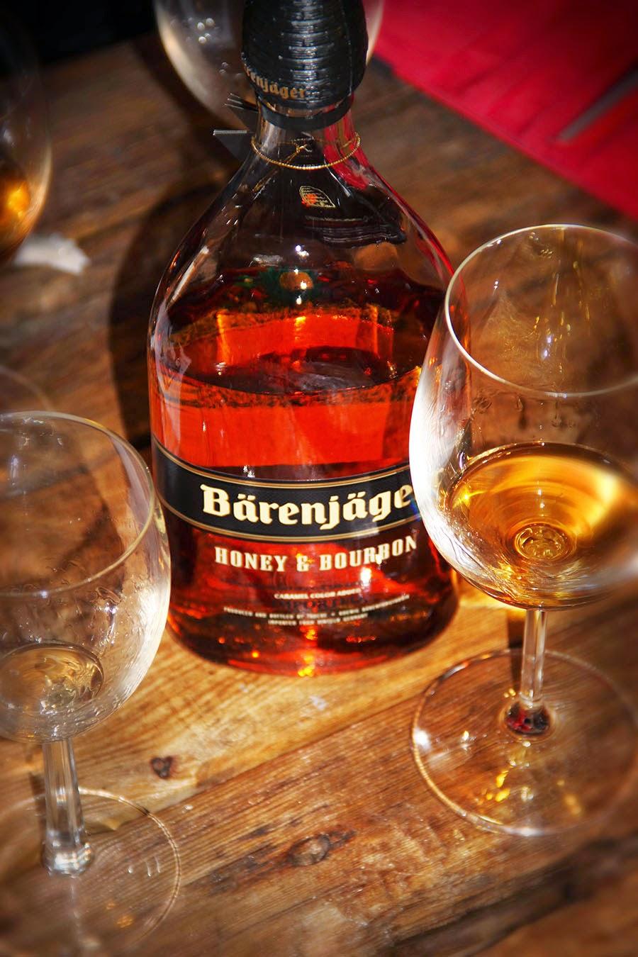 Honey and bourbon