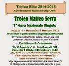 "1° Gara NAZ. SINGOLO  ""Trofeo Matteo SERRA"" Bocc. Castelfranco-MO"