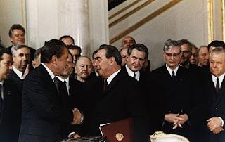 Nixon y Brezhnev