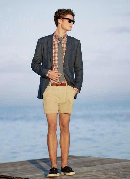 Mens Fashion Khaki Parka