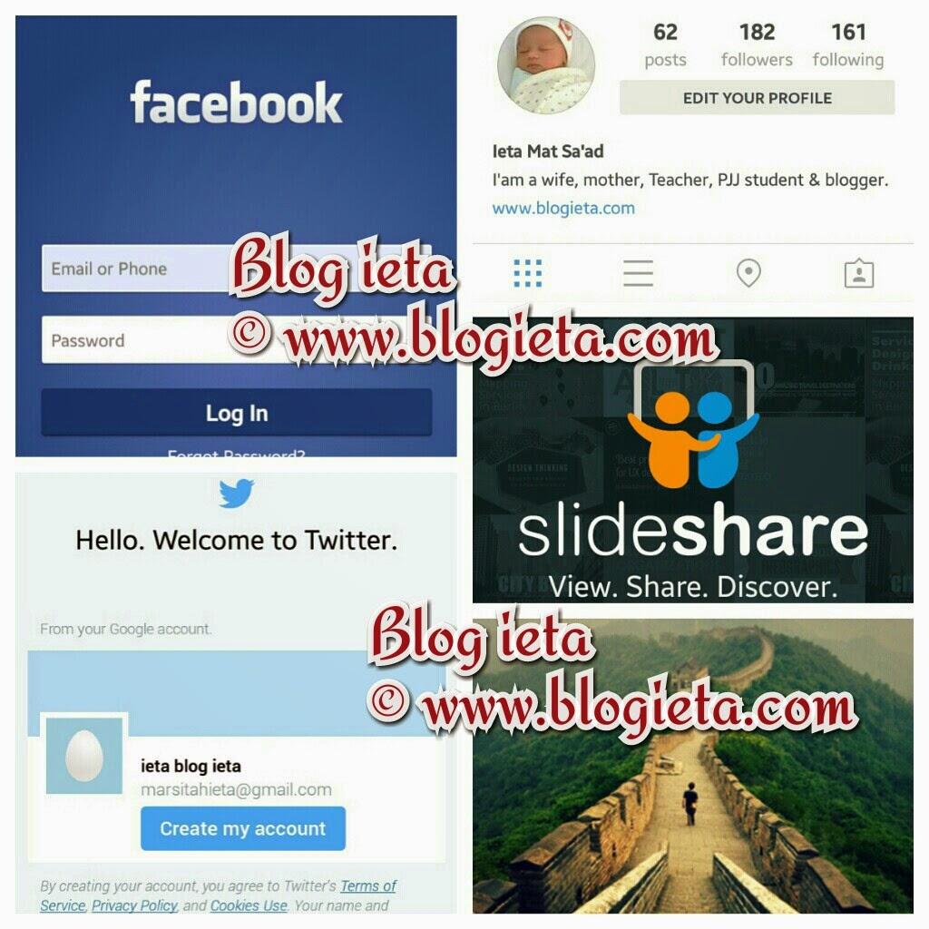 Manfaatkan medium sosial yang ada, Advertorial, cara meningkatkan traffik blog, IKLAN JANA WANG ONLINE, PROMOTE BLOGGER, REVIEW BLOG BLOGGER, facebook, Google +, Blog ieta, Dunia Niaga ieta, Blogshop Dunia Niaga ieta merupakan medium niaga online, instagram, twitter, ummaland, media sosial, Linkedin
