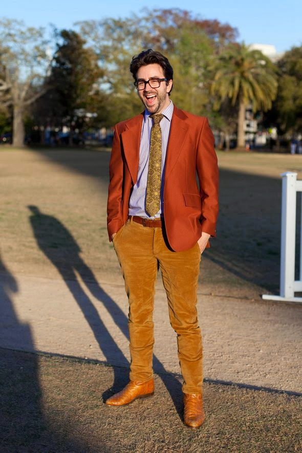 THE STYLEPRENEUR: On the Street&quot Cords and Cowboy Boots